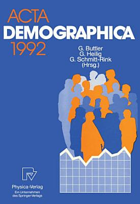 Acta Demographica 1992 PDF