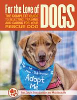 For the Love of Rescue Dogs PDF