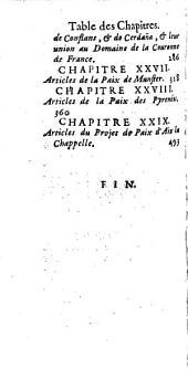 La France dans sa splendeur, tant par la réunion de son ancien domaine, qui étoit aliené, que par les traitez de paix de Munster, des Pyrenées et d'Aix la Chapelle, et par les conquestes de sa Majesté: Volume 2