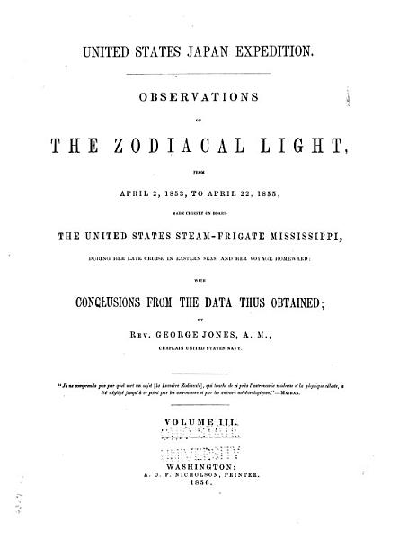 Download Observations on the Zodiacal Light Book