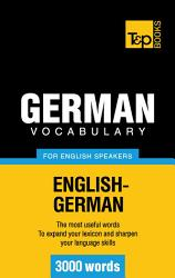 German vocabulary for English speakers   3000 words PDF