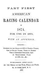 American Turf Register and Racing Calendar PDF