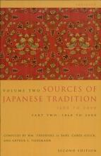 Sources of Japanese Tradition  Abridged PDF