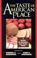 The Taste of American Place PDF