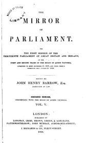 The Mirror of Parliament: Volume 5