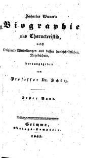 Zacharias Werner's sämmtliche werke, aus seinem handschriftlichen nachlasse: Bände 14-15