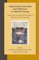 Negotiating Community and Difference in Medieval Europe PDF