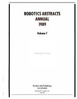 Robotics Abstracts PDF