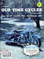 WALNECK'S CLASSIC CYCLE TRADER, JANUARY/FEBRUARY 1986