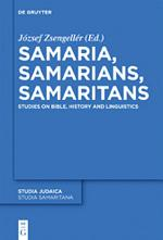 Samaria, Samarians, Samaritans