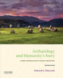 Download Archaeology and Humanity s Story Book