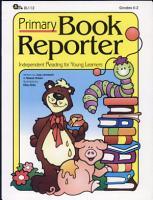 Primary Book Reporter PDF