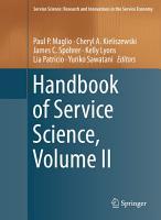 Handbook of Service Science PDF