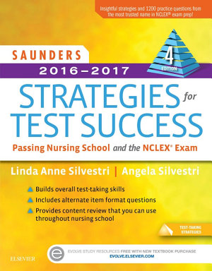 Saunders 2016 2017 Strategies for Test Success   E Book