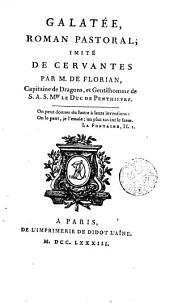 Galatée: roman pastoral imité de Cervantes
