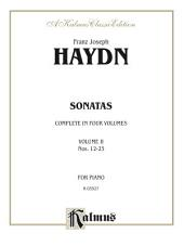 Sonatas, Volume II (Nos. 12-23): For Piano