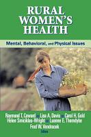 Rural Women s Health PDF