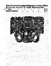 Artykulowé wsseobecného Sněmowjho Snessenj, ktery na Králowském Hradě Pražském, dne 9. Měsýce Ledna, weřegně přečteny, a dne 4. Zářj, Léta 1721. v přjtomnosti Wysoce-Vrozeného Pána, Pana Jana Jozeffa, Swaté Ržjmské Ržjsse Hraběte z Waldssteyna, Pána na Duxu, Hořegssým Laytersdorffě, Křiwoklátu, Krussowicých, Nyžburgku a Petrowicých, Geho Cýsařské a Králowské Milosti Tegné Raddy, Komornjka, Králowského Mjstodržjcýho, Neywyšssýho Zemského Marssalka, a Dědičného Krageče w Králowstwj Cžeském. Též Wysoce-Vrozeného Pána, Pana Frantisska Jozeffa, Swaté Ržjmské Ržjsse Hraběte Cžernjna, Wládaře Domu Gindřichowa Hradce a Chudenic, Pána na Gindřichowém Hradcý, Chudenicý, Petrsburgku, Gyshyblu, Neydeku, Kosmonosech, Kosti, a Ssmydebergku, Geho Cýsařské a Králowské Milosti Raddy, Komornjka, Králowského Mjstodržjcýho, Saudce Zemského, Neywyšssýho Sudj Lennjho, a Dědičného Ssenka w Králowstwj Cžeském. Neméně y Vrozeného a Statečného Rytjře, Pana Wáclawa Hložka z Žampachu, Geho Cýsařské a Králowské Milosti Raddy, Králowského Mjstodržjcýho, Saudce Zemského, a Neywyšssýho Pjsaře w Králowstwj Cžeském; Gakožto k tomu wsseobecnému Sněmu zřjzených Wysoce-Wzáctných Cýsařských a Králowských Commissařůw, odewssech Cžtýr Stawůw tohoto Králowstwj Cžeského zawřeny a publikowany byli