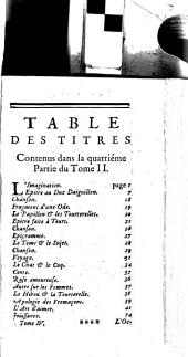 Les Oeuvres Diverses: Volume4