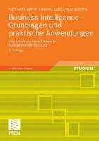 Business Intelligence   Grundlagen und praktische Anwendungen PDF