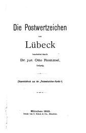 Die Postwertzeichen von Lübeck