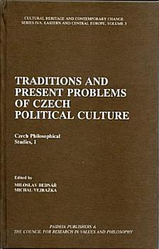 Traditions and Present Problems of Czech Political Culture PDF