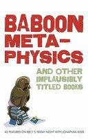 Baboon Metaphysics