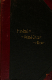 The Standard Poland-China Record: Volume 38