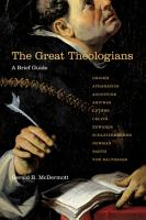 The Great Theologians PDF