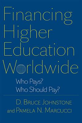 Financing Higher Education Worldwide PDF