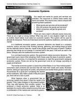 Nonfiction Reading Comprehension  Grades 7   8 PDF