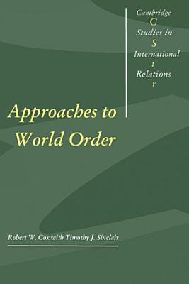 Approaches to World Order