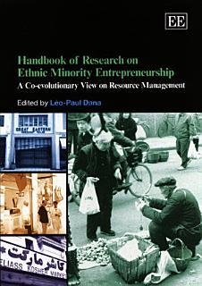 Handbook of Research on Ethnic Minority Entrepreneurship Book