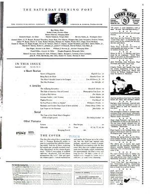 The Saturday Evening Post PDF