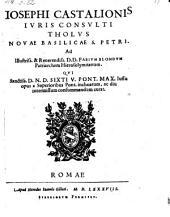 Tholus novae basilieae S. Petri. - Romae, Her. Joh. Gilioti 1588