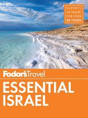 Fodor s Essential Israel PDF