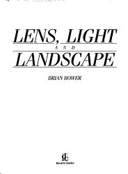 Lens  Light  and Landscape PDF