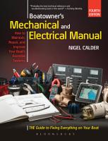 Boatowner s Mechanical and Electrical Manual PDF
