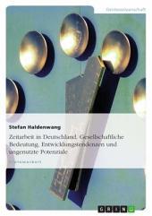 Zeitarbeit in Deutschland. Gesellschaftliche Bedeutung, Entwicklungstendenzen und ungenutzte Potenziale