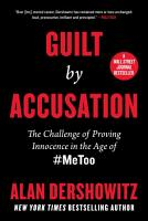 Guilt by Accusation PDF