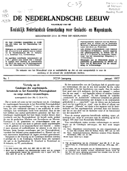 De Nederlandsche leeuw PDF