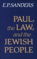 Paul, the Law, and the Jewish People