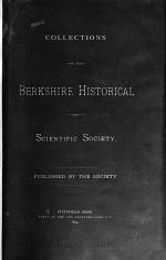 Collections of the Berkshire Historical and Scientific Society