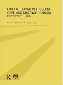 Higher Education Through Open and Distance Learning