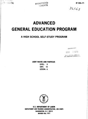 Advanced General Education Program