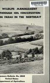 Farmers' Bulletin: Issue 1868