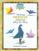 Making Origami Birds Step by Step