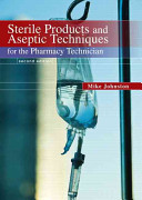 Sterile Products and Aseptic Techniques for the Pharmacy Technician PDF