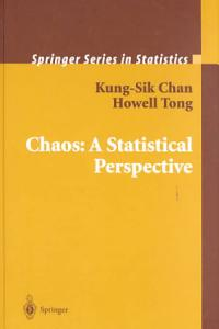Chaos  A Statistical Perspective Book