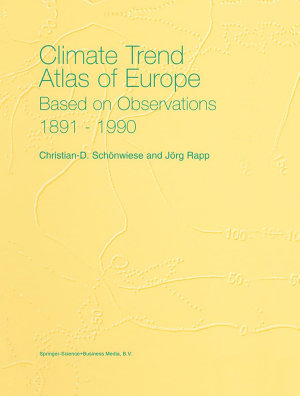 Climate Trend Atlas of Europe Based on Observations 1891   1990 PDF